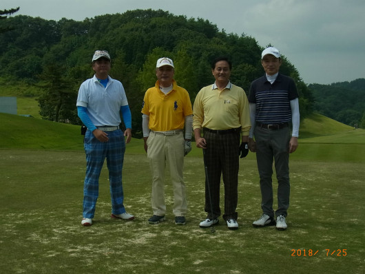 ZC就任ゴルフ (5)